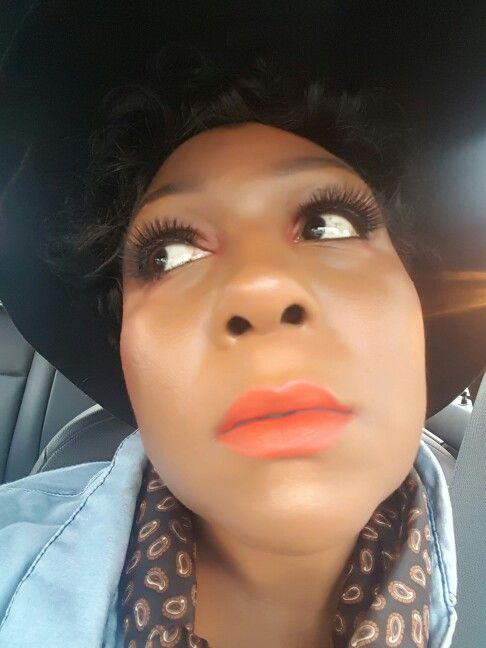 """Lady Dandrige"" Dare to Wear Matte lipstick with ""Risqué"" lip pencil  www.beautymarkedcosmetics.com"
