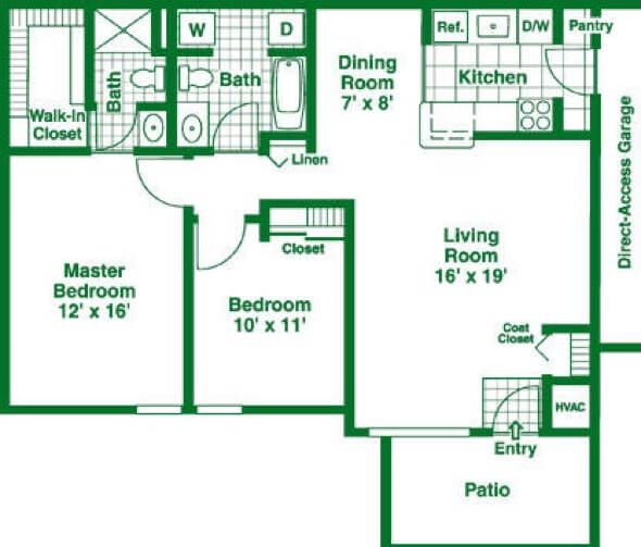 2 Bedroom Apartment Floor Plans Garage 611 best projetos images on pinterest | projects, architecture and