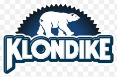 "In 1922, the Klondike Bar was introduced to America. Klondike is a Canadian brand... with the name based off of the Klondike River in Yukon, Canada. The Klondike bar consist of ice cream frozen and then coated in chocolate. ""Alex-Jordan"""