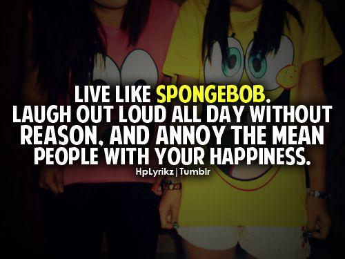 Like Spongebob