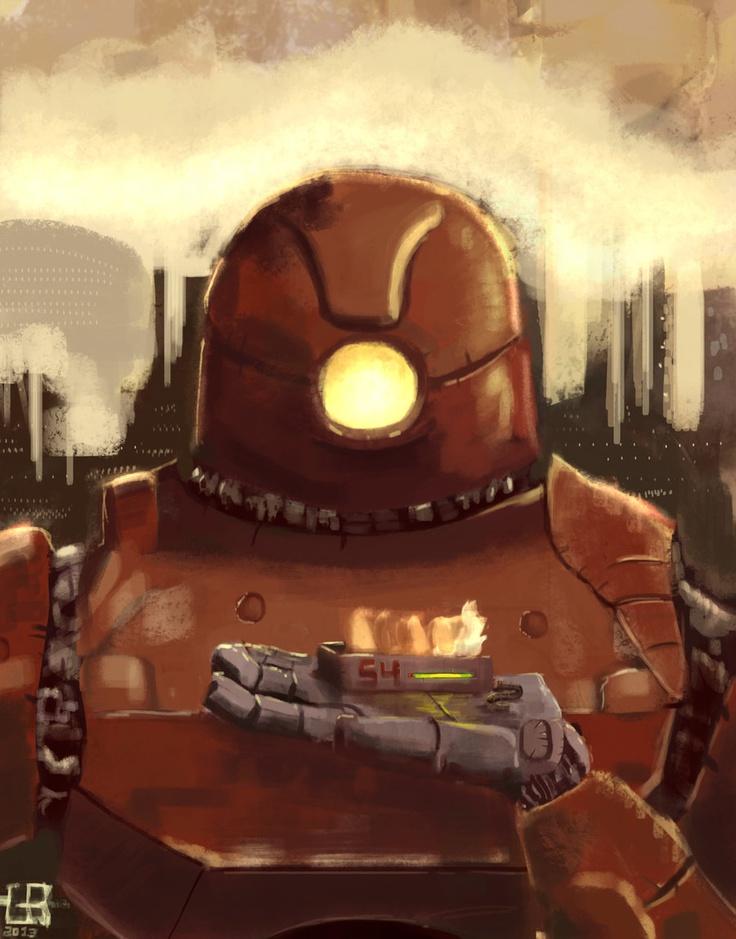 the little queen of the robots by g8rdo.deviantart.com on @deviantART