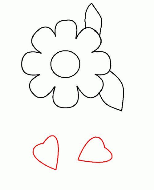 floare de decupat pentru cadou