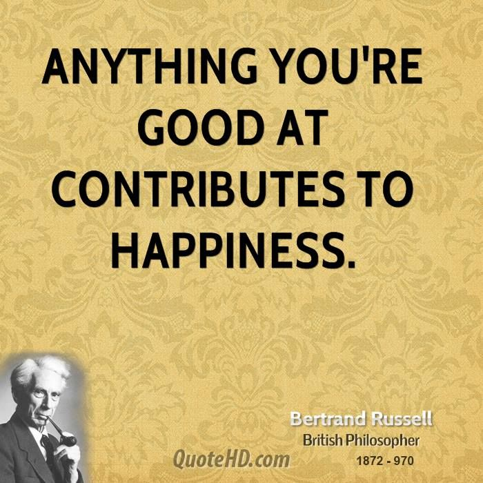 the road to happiness bertrand russell In praise of idleness, by bertrand russell the road to happiness and prosperity lies in an organized diminution of work 8 thenewgreen 1044 days ago.