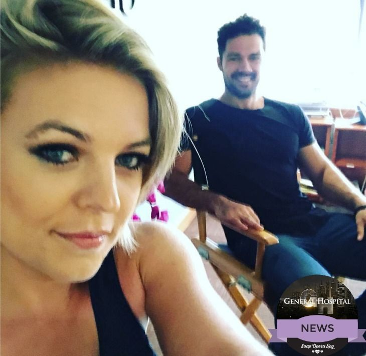 General Hospital (GH) news and spoilers indicate that Maxie's (Kirsten Storms) return will be happening sooner than anyone anticipated. During a Live Facebook video that aired on General Hospital's page on June 29th, Kirsten Storms and Ryan Paevey , who portrays Detective Nathan West, took some tim