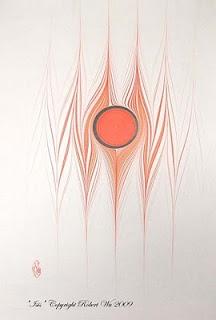 """"""" Isis """" by Robert Wu #marbling #art"""
