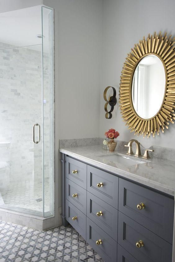 Polished Brass Bathroom Faucet: Bathroom Decoration Inspiration In 2019