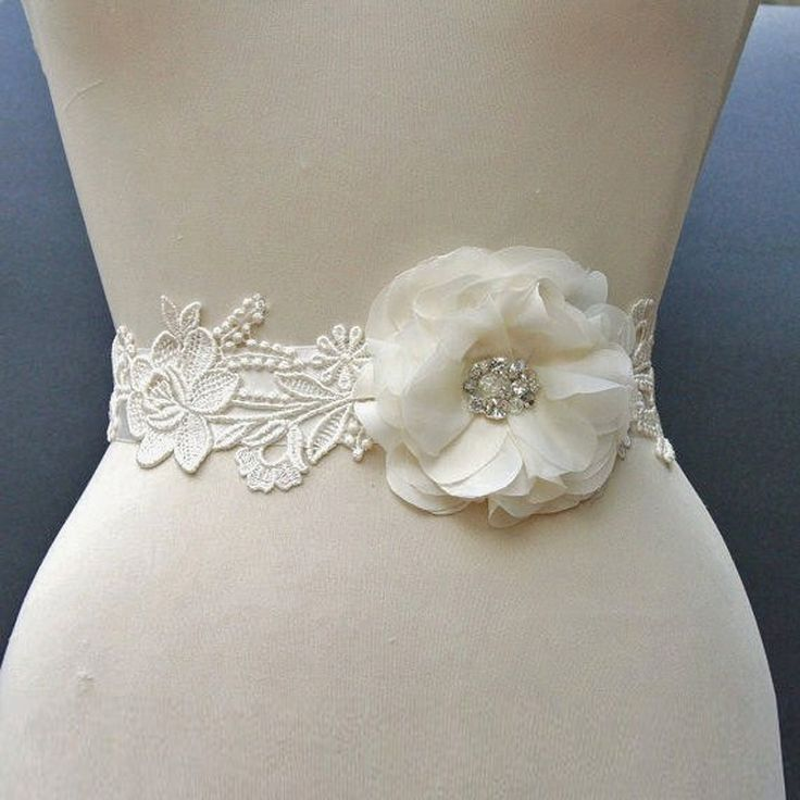 17 best images about sparkly sashes on pinterest wedding for Sparkly wedding dress belt