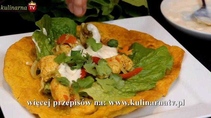 Przepis Video na Kurczaka Curry z Plackiem Roti - To przepyszne danie kuchni indyjskiej z kurczakiem curry, plackiem roti i aromatycznym sosem jogurtowo-kokosowym. Smakowało? Nie zapomnij skomentować:)