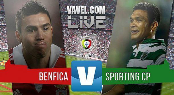 Jogo Benfica x Sporting em directo e ao vivo online na Liga NOS 2015 (0-2)