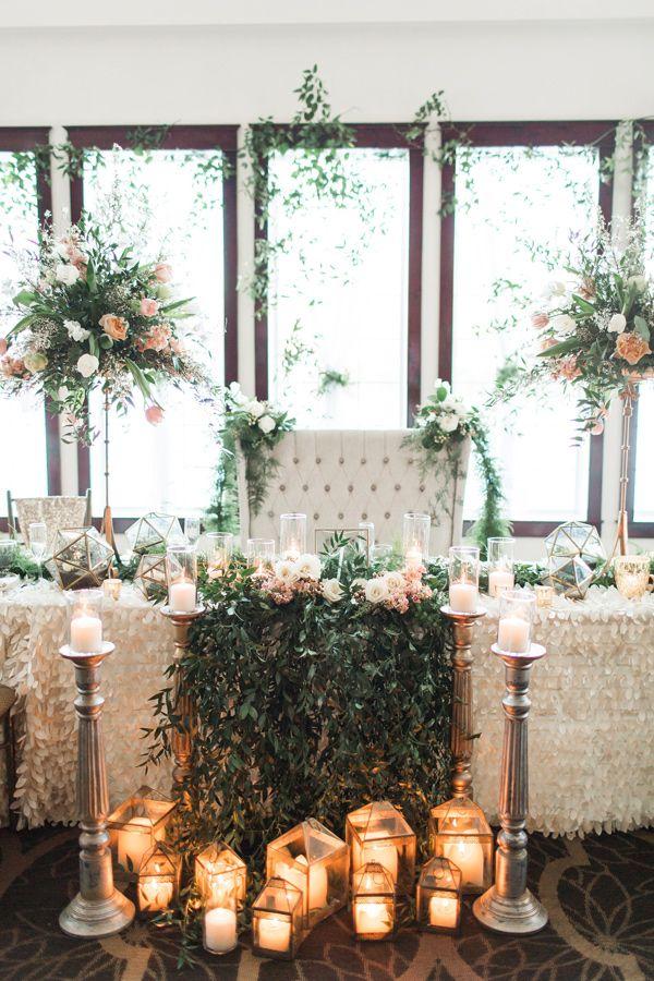 romantic garden wedding - photo by Samantha Jay Photography http://ruffledblog.com/enchanted-garden-wedding-ideas