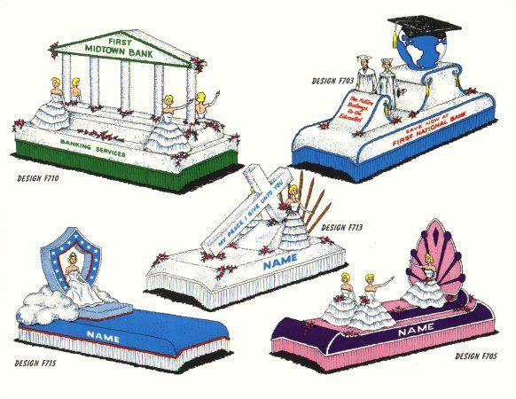 Designs for City - Business - Organizations - Astro Parade Float Materials Ltd. - Float Kits - Winnipeg Manitoba