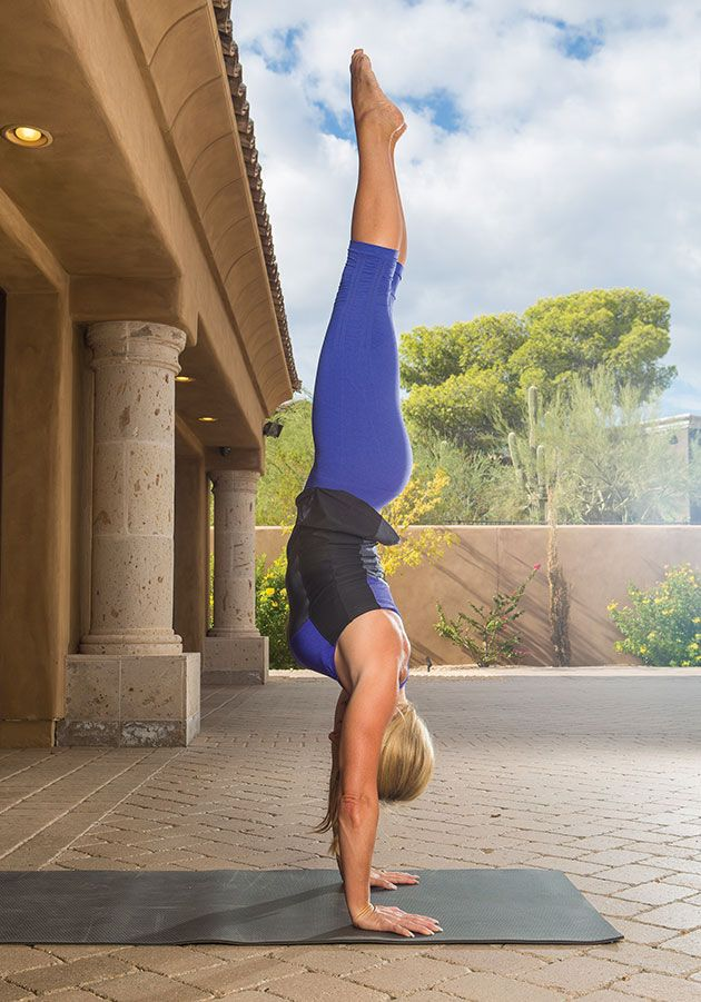 Mastering the handstand is all about the prep. Step by step build strength for handstand