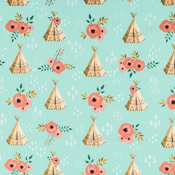 Teepee & Rose Apparel Fabric