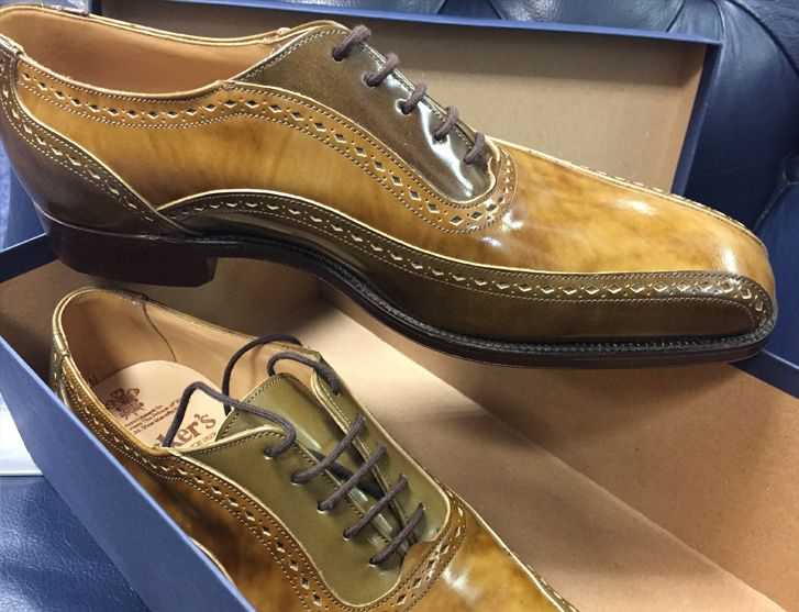 Tricker's limited edition A visit to Tricker's shoe