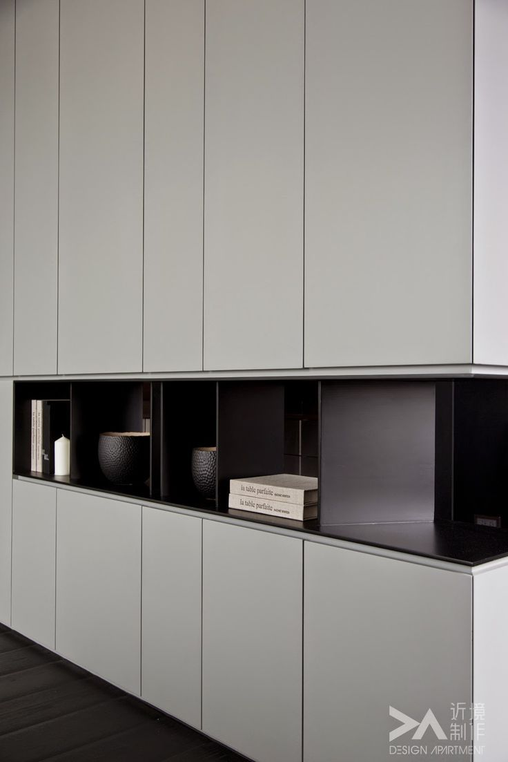 Closet with display area: