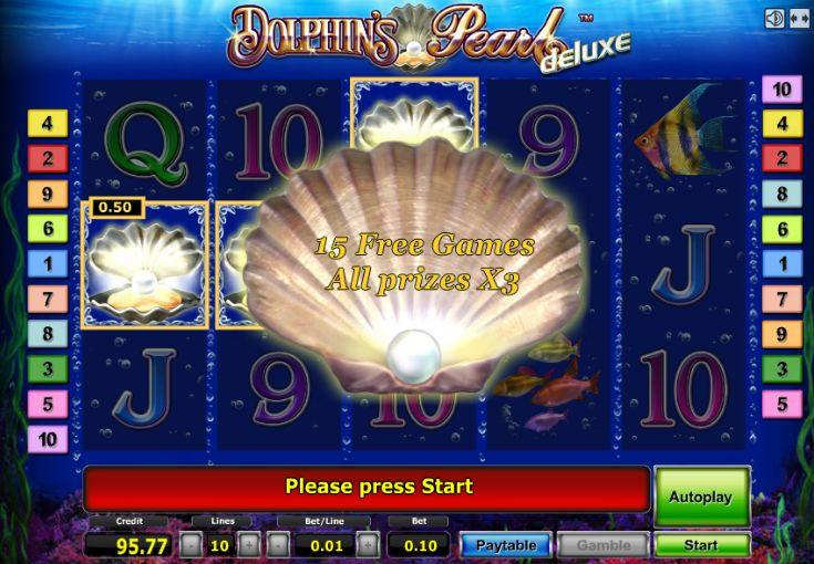 Игровой автомат Dolphin Treasure в онлайн казино Вулкан Бит.Играйте на деньги или бесплатно без регистрации.Верхняя Пышма