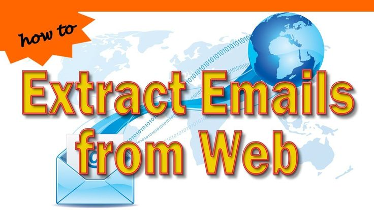 How to Extract Emails from Web