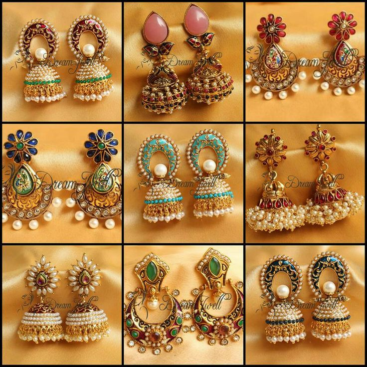 23 Best Images About Jimiki On Pinterest Gold Earrings