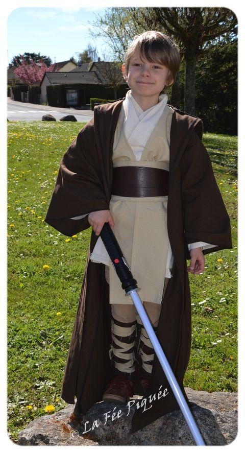 Costume Jedi / padawan | La Fée Piquée                                                                                                                                                                                 Plus