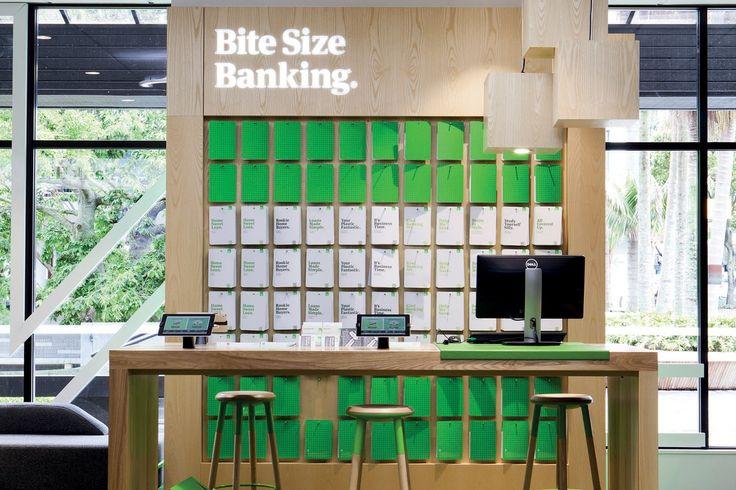 Kiwibank   Architecture Now Edge stools by Tim Webber   Design by Designworks (NZ)