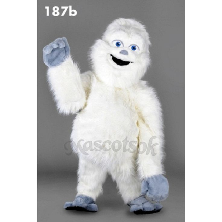 New Yeti Mascot Bigfoot Costume