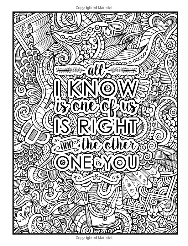 Amazon.com: Married Life: A Snarky Adult Coloring Book: A ...