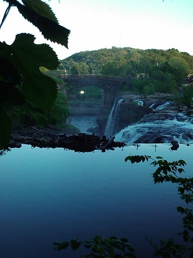 paterson falls -- don't know how far it is from Princeton, but I may want to go there :)