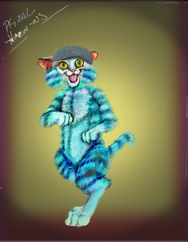 one of the Bluzkat characters