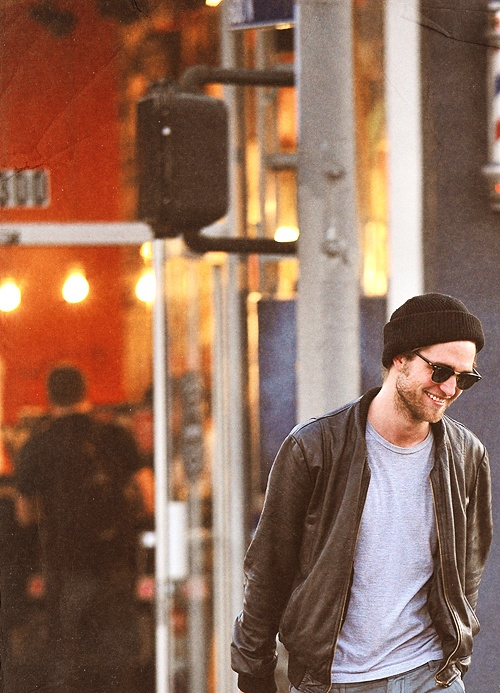 robert pattinson beanie bomber sunglasses beard fashion men celeb streetstyle tumblr