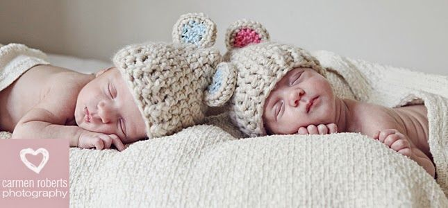 The most beautiful little twins - Cade & Madison. Carmen Roberts Photography - baby shoot ideas.