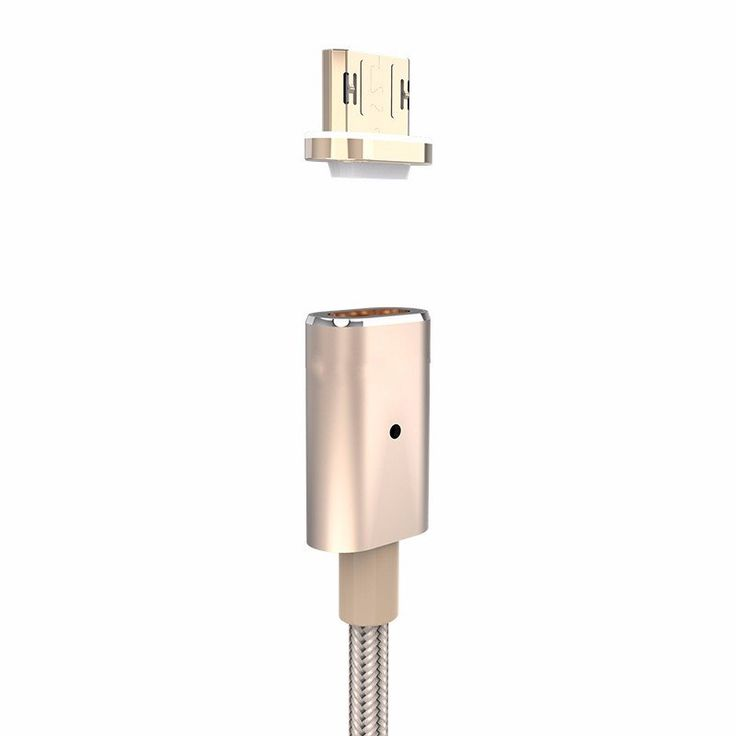 Magnetic Adsorption Nylon Weave Braid Micro USB Charger Data Cable For Cellphone Tablet