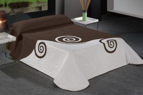 DecoArt24.pl Narzuta EYSA 235x270cm Malawi brown - Piękna i oryginalna narzuta hiszpańska firmy EYSA Eleganko wykonana z materiałów najwyższej jakości bardzo dobrze prezentuje się zarówno w stylowej jak i nowoczesnej sypialni Niepowtarzalne wzornictwo podkreśli charakter każdej sypialni #dom #sypialnia #łóżko #DecoArt24.pl #sophisticated