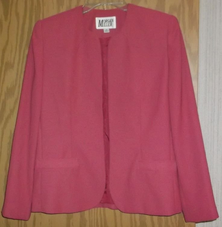 Morgan Miller Ladies Blazer~Size 4P Petite~Pink Mauve Rose~Dressy Career Wear | Clothing, Shoes & Accessories, Women's Clothing, Suits & Blazers | eBay!