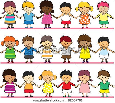 Children holding hands Stock Photos, Children holding hands Stock ...