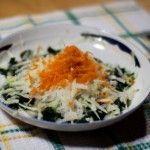 Salata de spanac cu gulie