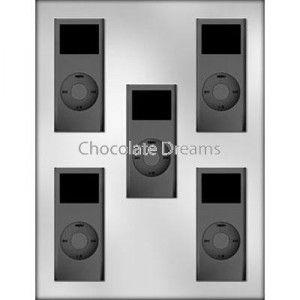 Chocoladevorm MP3 speler