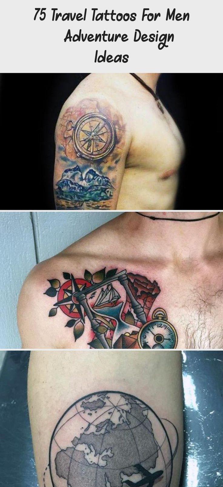 43++ Stunning Travel tattoo ideas for guys image HD