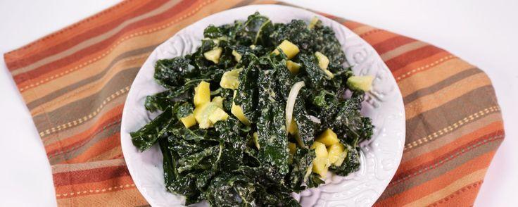 Kale with Avocado Salad - DO