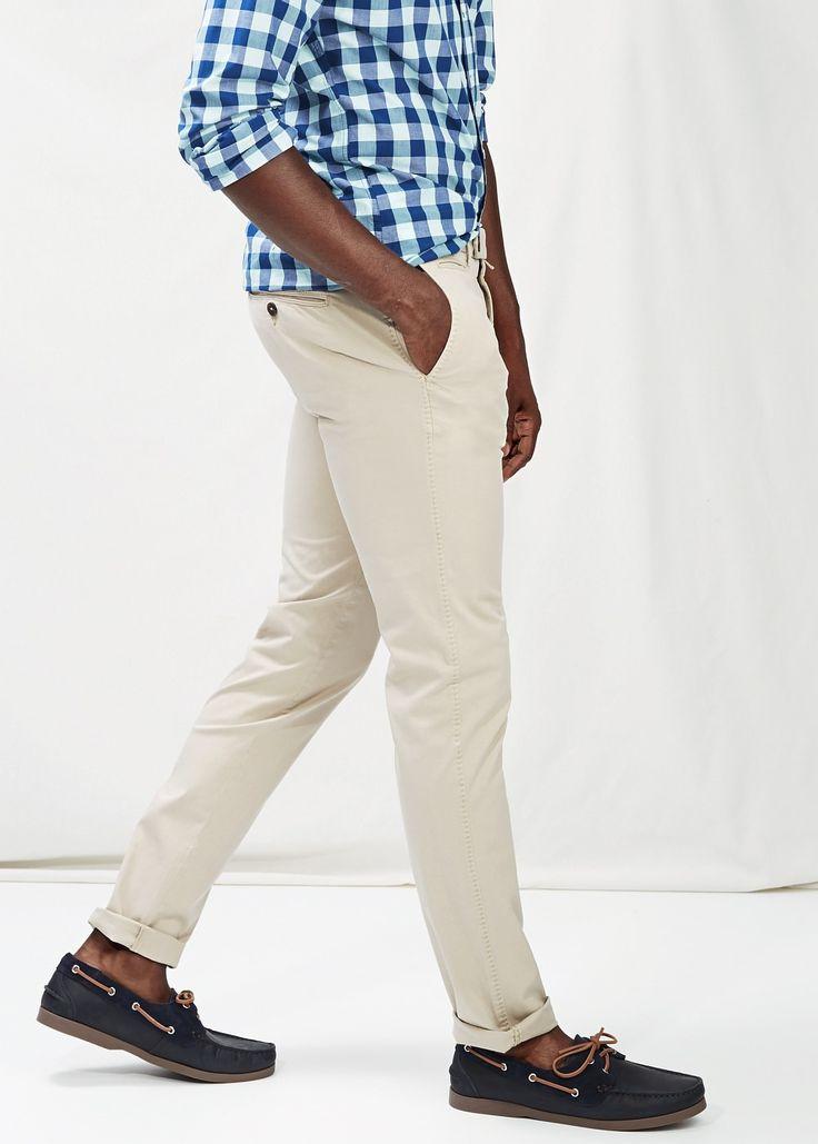 Pantalone slim fit Slim fit pants