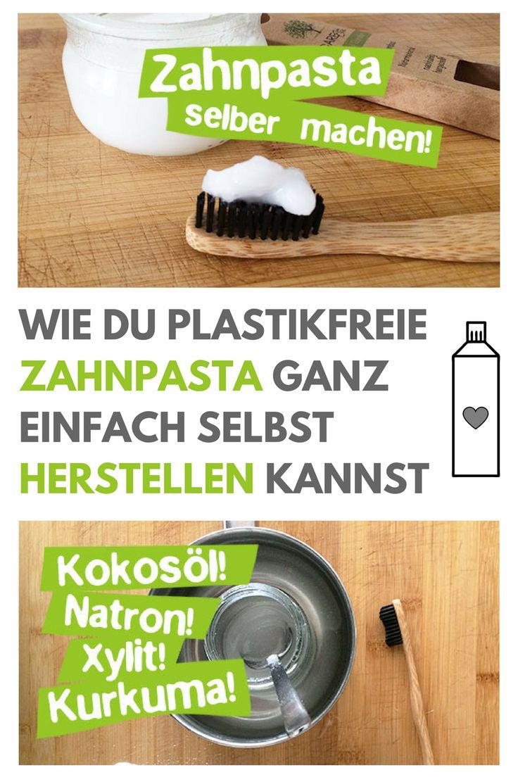 Zahnpasta selber machen – Mit Kokosöl, Kurkuma & Xylit