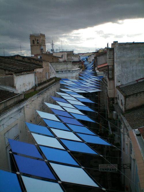 Cielos y suelos de Badajoz.(djo+a). 2012.
