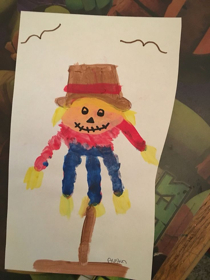 scarecrow preschool activities scarecrow handprint crafts with 742