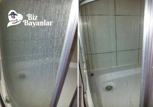 Doğal malzemeler ile duşakabin camı temizliği nasıl yapılır? Doğal malzemeler ile duşakabin camı temizliği malzemeleri, aşama aşama nasıl hazırlayacağınızın resimli anlatımı ve deneyenlerin yorumlarıyla burada