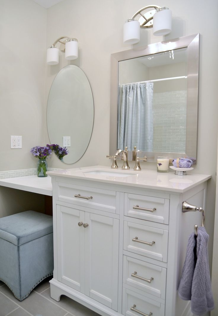 Lowe's Bathroom Makeover Reveal