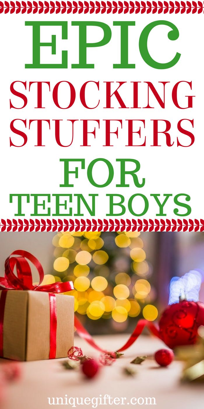 Stocking Stuffers for Teen Guys | Stocking Ideas for Male Teens | Christmas Stocking Fillers for Teenage Boys | What to get a teenager for Christmas | Holiday presents for a teen guy | Tween Gift Guide | Cheap & Creative Ideas | Kids Gifts | Budget Fun