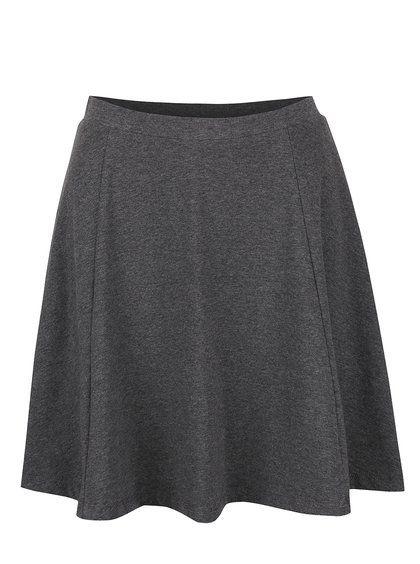 Tmavě šedá sukně ONLY New Niella