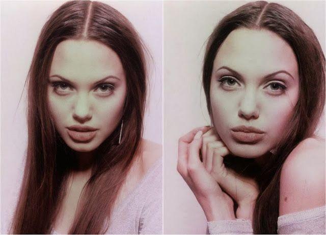 Get the Look: 90's Angelina Jolie makeup