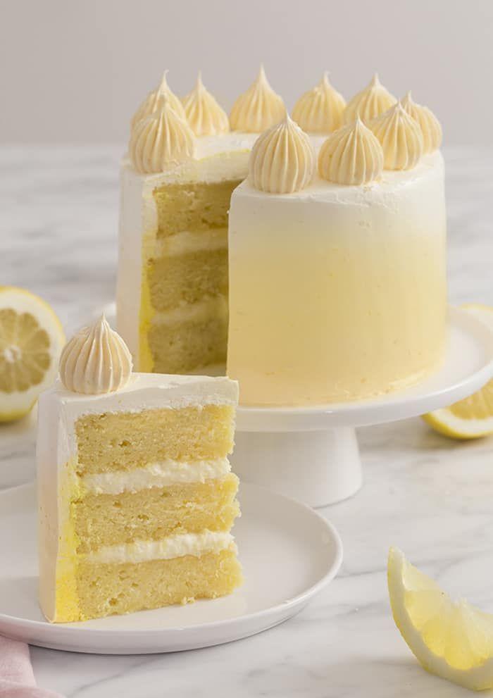 Einfacher Zitronenkuchen   – Cakes