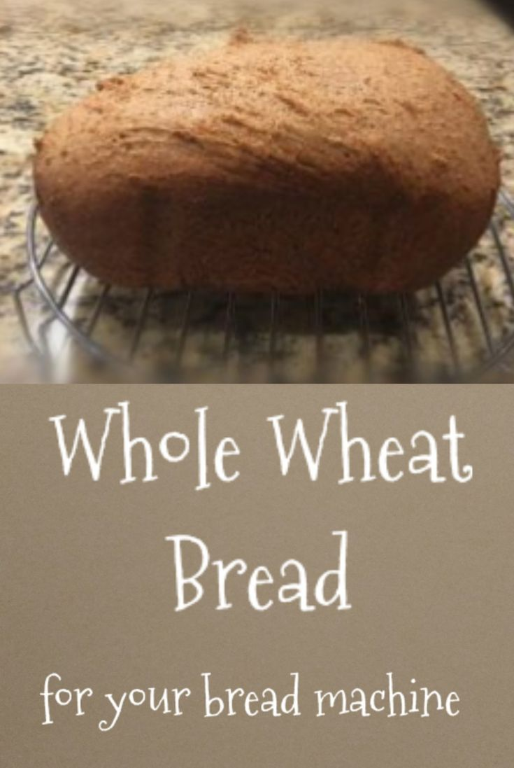 Honey whole wheat bread recipe for your bread machine. All natural ingredients and sweetened with honey. So easy and delicious! Eat Healthy to be Healthy.