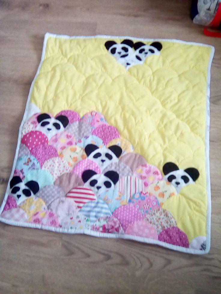 17 Best Ideas About Panda Quilt On Pinterest